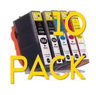 10 Pack HP 564 XL Compatible Ink Combo  (Old Generation)