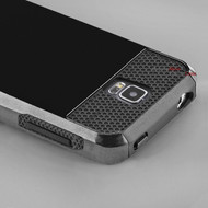 Rugged Black Hybrid Case for Samsung Galaxy S5