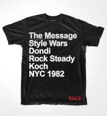 NYC 1982 T-shirt