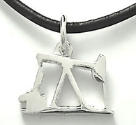 STERLING SILVER OIL PUMP JACK PENDANT