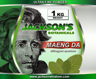 "Jackson's is proud to offer our customers the freshest, finest milled powder.  Our powder has not been sitting on a shelf for months on end.  Our powder is milled daily.  Jackson's Ultra Fine powder has the consistency of fine flour as opposed to our ""Capsule Ready"" powder which is what most retailers sell.  This Ultra Fine Powder is typically purchased by those who dissolve their powder in a liquid.  This powder goes through several steps which eliminates approximately 99% of all stem and over 95% of the vein.  This makes Jackson's Ultra Fine powder more potent by weight when compared to crushed leaf or capsule ready powder.      Save  5% when purchasing 2 Kilo's.  Save 10% when purchasing 3-4 Kilo's.  If you would like to order 5+ Kilo's please visit our Contact Us page for the best possible pricing."