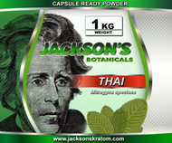 1 Kilo of Jackson's freshly milled Thai Capsule Ready powder.    SAVE 5% when you buy 2 Kilo's SAVE 10% when you buy 3-4 Kilo's