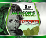 Once again Jackson's is offering the lowest price anywhere for Stem & Vein Ultra Fine powder.  Our stem & vein is freshly milled each day!   Remember... Standard SHIPPING IS FREE!