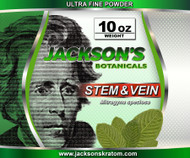 Once again Jackson's Kratom is offering the lowest price anywhere for stem & vein Ultra Fine powder.  Our stem & vein is freshly milled each day!   Remember... Just like everything else Jackson's Kratom offers, standard SHIPPING IS FREE!