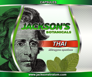 Jackson's  is pleased to bring you our freshest Thai capsules.   Each small bottle contains 50 capsules.  Each capsule contains approximately 600mg of Jackson's freshest Thai powder.  Every bottle is professionally packaged and sealed.