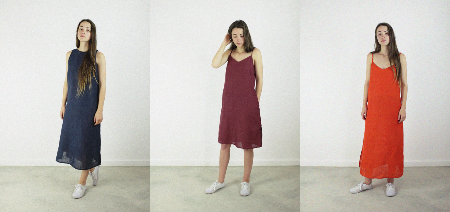 Hemp Linen Summer Dresses