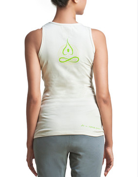 Stillness organic cotton Ladies Yoga top, front