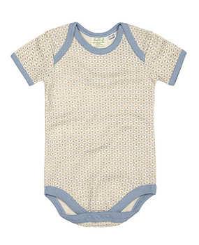 Little Boy Blue | Short Sleeved Baby Bodysuit | Organic Cotton