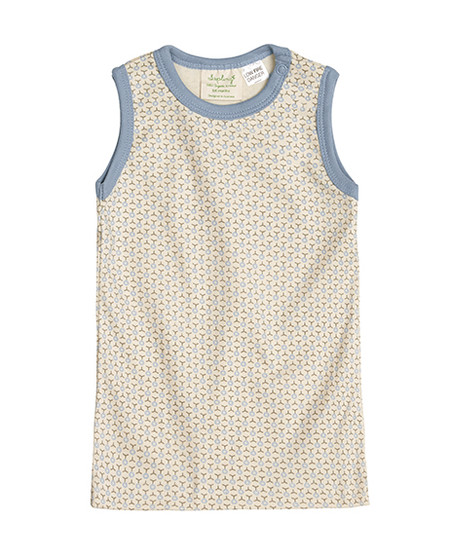 baby tank top in organic cotton safe