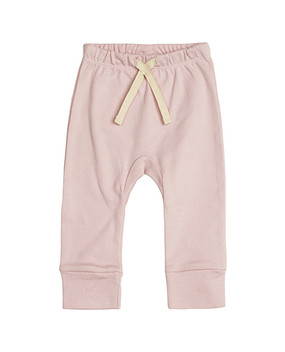 pink heart pants, front
