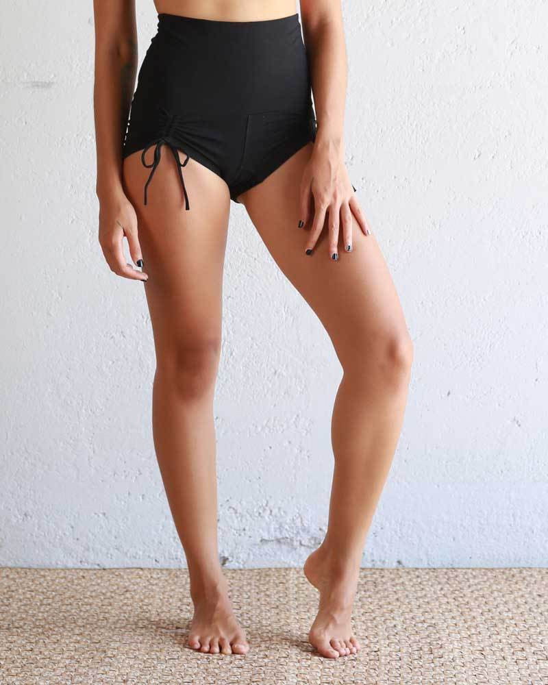 Black Hot Yoga Pole Dancing Shorts