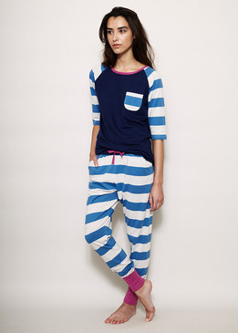 Organic Cotton Stripe PJ