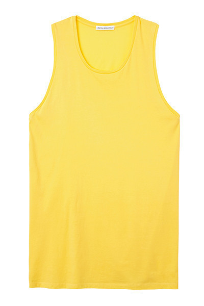 Bright Yellow Muscle Tee