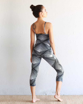 tank top leggings crop back