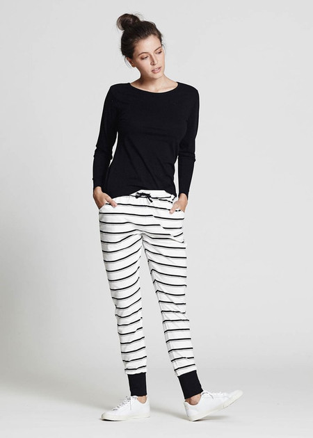 Stripes in Organic Cotton, Comfy Pants