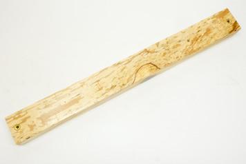 Magnetic Knife Bar Spalted Danish Ash nr 2