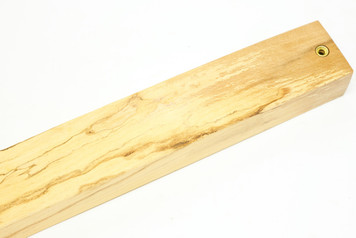 Magnetic Knife Bar Spalted Danish Ash nr 3