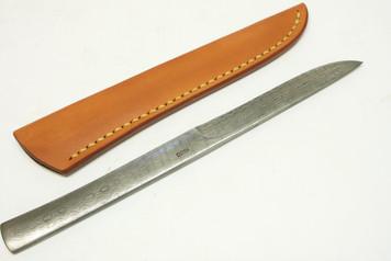Kiyoshi Kato Kasumi Damascus Utility or Paper Knife 205mm