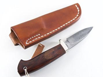 Kiyoshi Kato Damascus Hunting 78mm Ironwood