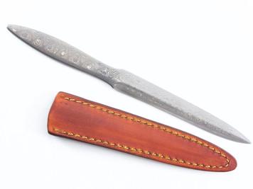 Kiyoshi Kato Damascus Utility Paper Knife  190mm