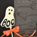 Ghost Chocolate Lollipop Mould