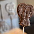 Bride & Groom Chocolate Lollipop Mould