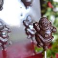 Santa Lollipop 3D Chocolate Mould