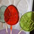 Happy Easter Hard Candy Lollipop Mould
