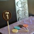 """I'm 1"" Chocolate Lollipop Mould"