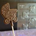 Baby Buggy Lollipop Chocolate Mould