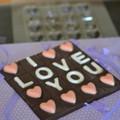 'I Love You' Breakup Bar Chocolate Mould