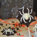 Spider / Spiderman Chocolate Lollipop Mould