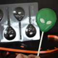 Alien Chocolate Lollipop Mould