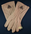 Masonic Dress Gloves with Sq & C
