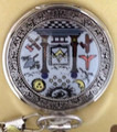 Masonic Symbol Pocket Watch