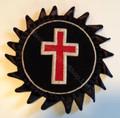 Knight Templars Cross  Rossettes