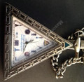 Masonic Triangle  Pocket Watch