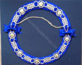 Officers Chain Collar Royal Blue