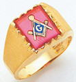 3rd Degree Masonic Gold Ring14
