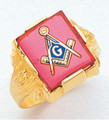 3rd Degree Masonic Gold Ring15