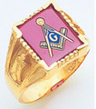 3rd Degree Masonic Gold Ring22