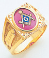 3rd Degree Masonic Gold Ring27