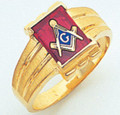 3rd Degree Masonic Gold Ring39