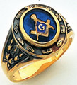 3rd Degree Masonic Gold Ring56