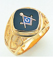 3rd Degree Masonic Gold Ring60