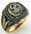 3rd Degree Masonic Gold Ring62
