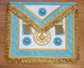 Centennial Trim MM Apron  with  Fringe & Lodge Badge