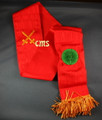 Knight Mason Red Sash