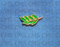 "Green "" Spig of Acacia""  lapel Pin"