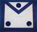 Master Masons Apron Royal Blue